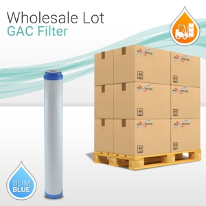 16 x GAC UDF GAC Coconut Shell Carbon Filter, 20