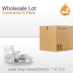 25 Pack Leak Detector Shut Off Valve (20mm Pad)
